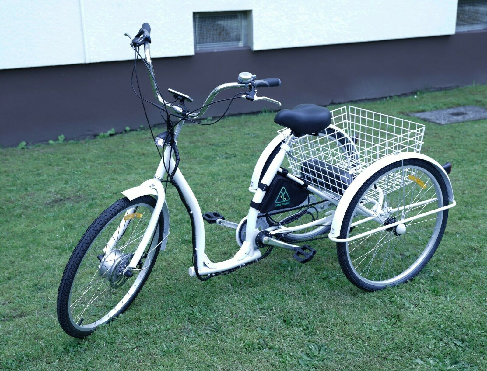 E-Bike Dreirad Elektrofahrrad 36V-250W, absolut NEU, selbst zusammengebaut!