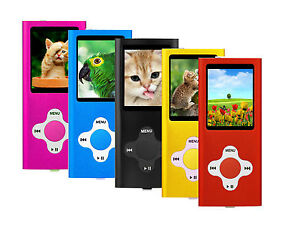 MP3 Music Media Player 8GB internal memory with Video and Voice Recorder Games