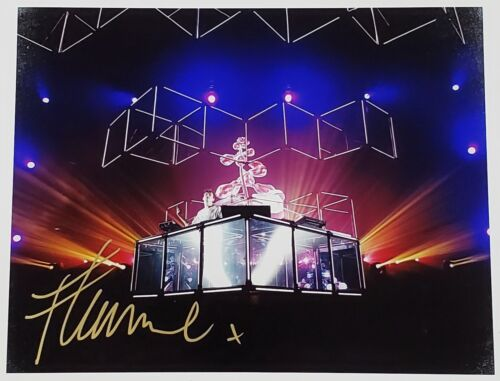 FLUME DJ SIGNED 11X14 PHOTOGRAPH W/LOA EDM SKIN