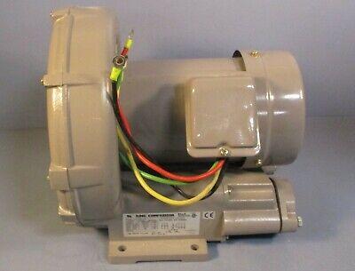 Fuji Vfc409a-7w Ring Compressor Regenerative Blower 1 Hp 3 Ph 200-230460 Volt