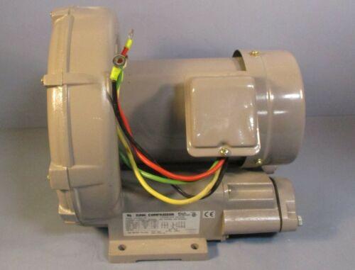 Fuji VFC409A-7W Ring Compressor Regenerative Blower 1 HP, 3 Ph 200-230/460 Volt