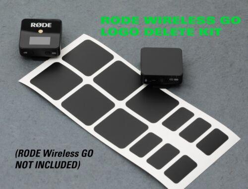 RODE Wireless GO and GO II - LOGO DELETE KIT !!!