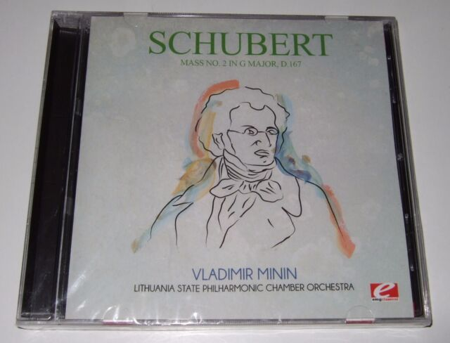 Schubert: Mass No. 2 (CD, 2011, Essential Classical) new