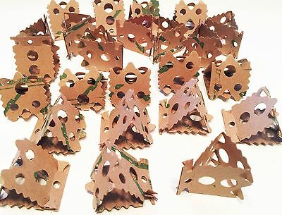 1222 24pc Foraging Card Crumbles Bird Parrot Toy Part craft parrot toys cages