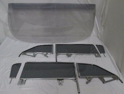 59 60 Buick Chev Olds Pontiac Convert Glass Windshield Assm Vent Door Quarter YT