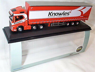 Volvo FH4 (G) Curtainside Knowles 1:76 Scale Oxford 76VOL4003 new in Case