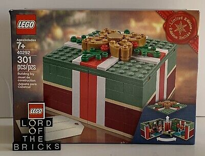 LEGO 2018 Holiday Limited Edition Christmas Gift #40292 New Sealed, Discontinued