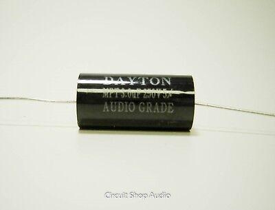 3.0 Uf 250 Volt Speaker Crossover Audio Polypropylene Capacitor - Bass Blocker