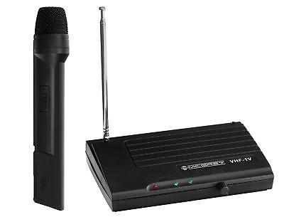 DJ PA VHF Funk Mikrofon Set Wireless Microphone Kabellos Gesangs Microfon Mic (Dj Wireless Microphone)
