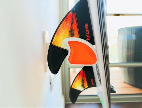 NEVER SEEN BEFORE! The Original Air Surf Rack Wall Orange Stand Rack