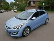 2013 Hyundai i30 Hatchback with only 40,000 km Waverton North Sydney Area Preview