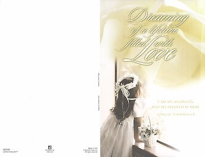 Wedding Bulletins: Dreaming of a lifetime ... U6240 (NEW in plastic 100 count)](Wedding Bulletins)