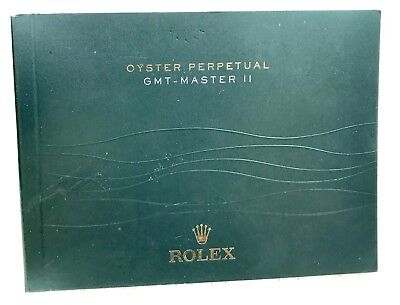 ROLEX Oyster Perpetual GMT - Master II Booklet Italian 2013 116718 116710