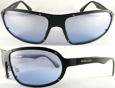 STYLISH MOMO DESIGN HERREN/GENTS SUNGLASSES 7502, PURE TITANIUM, BLACK/ (Gents Sunglasses)