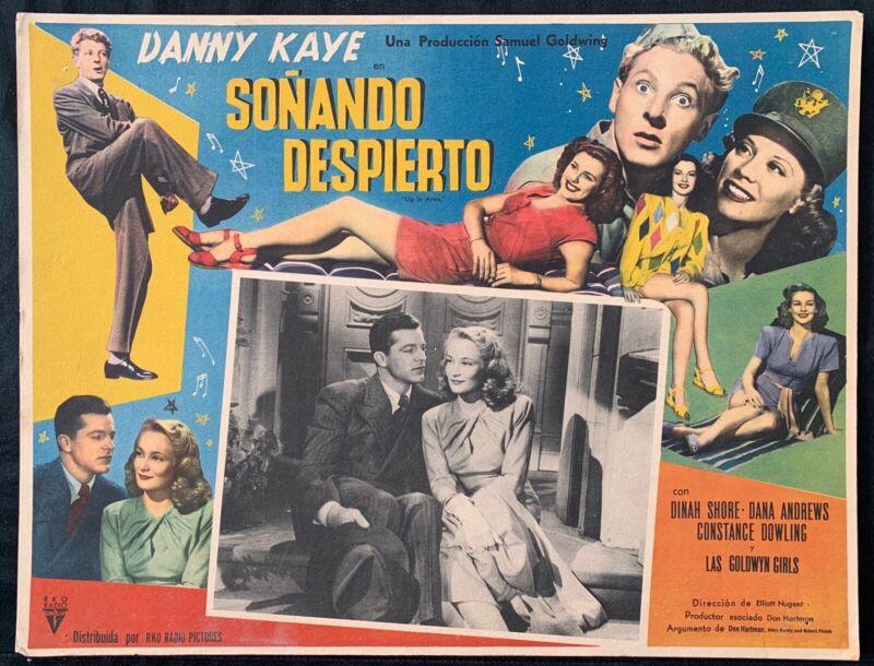 DANNY KAYE Up in Arms DANA ANDREWS Vintage LOBBY CARD 1943
