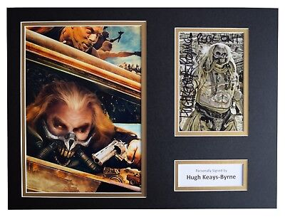Hugh Keays Byrne Signed autograph 16x12 photo display Mad Max Film AFTAL COA