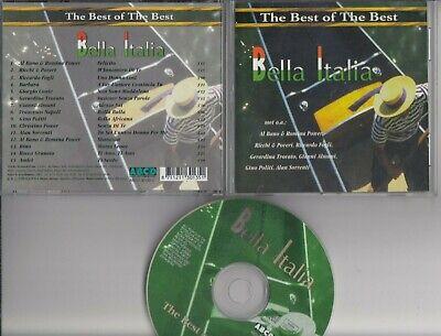 BELLA ITALIA The Best Of The Best CD Al Bano Francesco Napoli Gino Politi