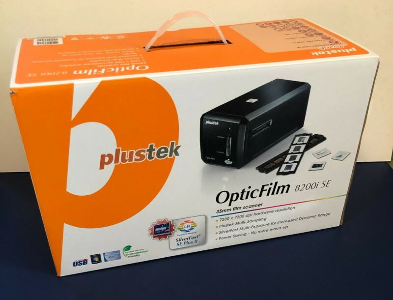 Plustek - OpticFilm 8200i SE - Film and Slide Scanner - USED EX+ Condition