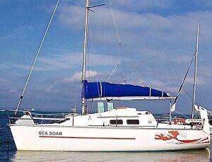 Clubman 8 Trailer Sailer Blairgowrie Mornington Peninsula Preview
