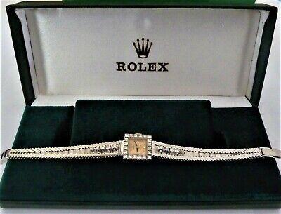 rolex ladies solid 18k with diamonds. my ref no 258
