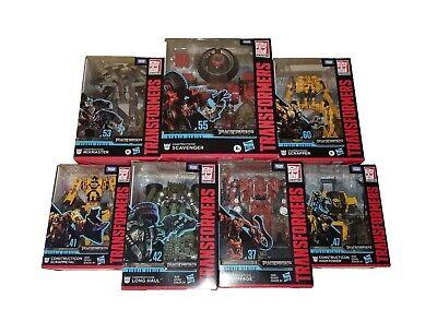 Transformers Studio Series Devastator Scavenger Scrapper Long Haul Mixmaster