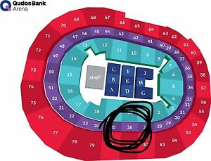 4 Tickets!! BRUNO MARS 24K Penrith Penrith Area Preview