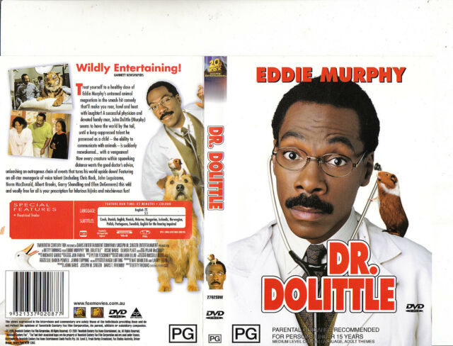Dr Dolittle 1998-Eddie Murphy-Movie-DVD