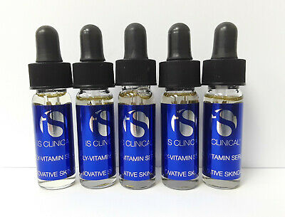 IS Clinical Poly-Vitamin Serum 5 x 3.75ml/0.12oz Travel Sample Size EXP:07/2023