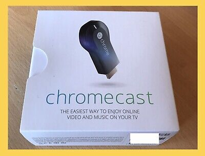 Google Chromecast Complete In Box