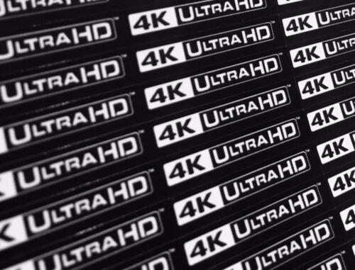4K Ultra HD Steelbook Logo VINYL STICKERS 30 X 9 - $9.00