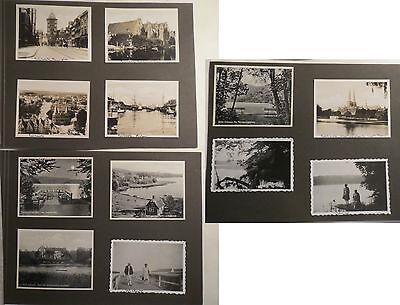 Lübeck - Malente - Uglei-See - Kellersee - 1930er / 12 Fotos