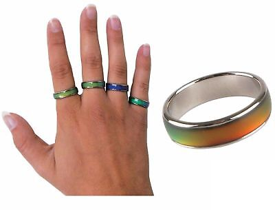 Stimmungsring Mood Ring Farb Wechselnde Ringe Zauber Kinder Ringe Mitgebsel
