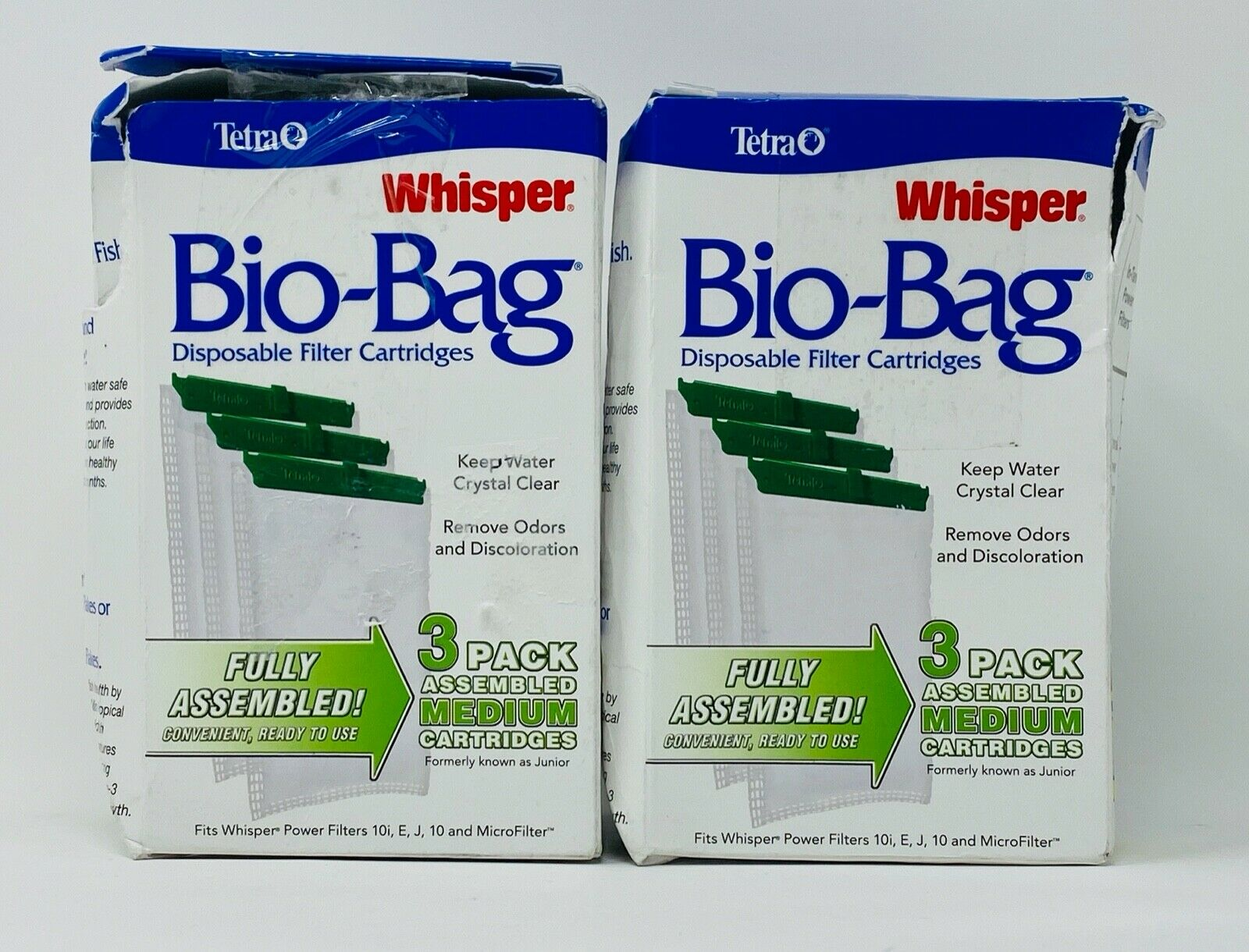 Fish & Aquatic Supplies Bio - Bag Medium Cartridge  3Pack Bo
