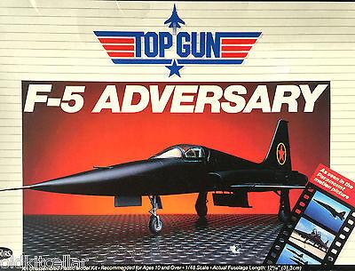 "Testors Kit No.292, 1/48 Scale, ""TOP GUN"" F-5 ADVERSARY, NORTHROP F-5, 1986"