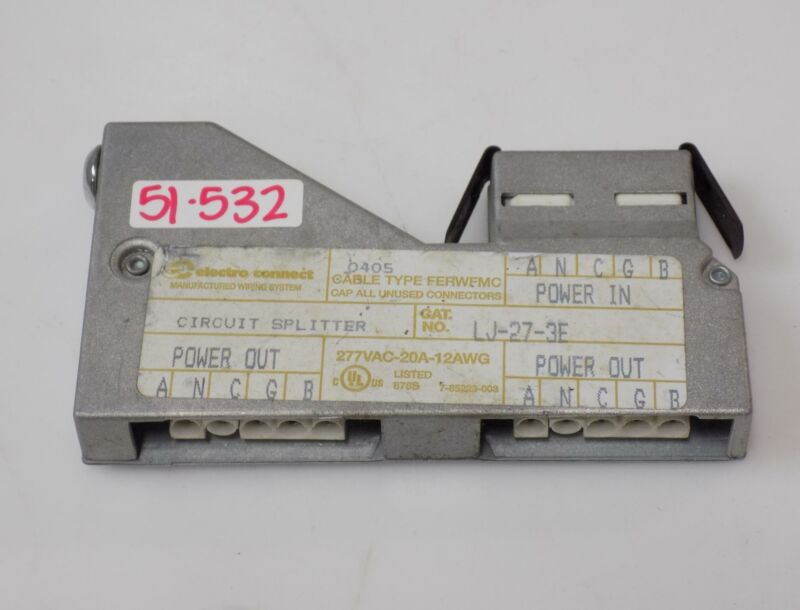 ELECTRO CONNECT CIRCUIT SPLITTER LJ-27-3E