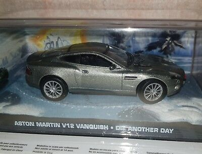 ASTON MARTIN V12 VANQUISH Die Another Day JAMES BOND 007 1:43 ARGENTINA for sale  Shipping to Canada
