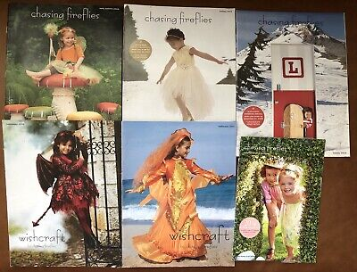 Chasing Fireflies Childrens Catalog Lot 6 Back Issues 2008-2016