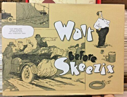 WALT BEFORE SKEEZIX HARD COVER FRANK KING 1918 - 1920 GASOLINE ALLEY DAILIES