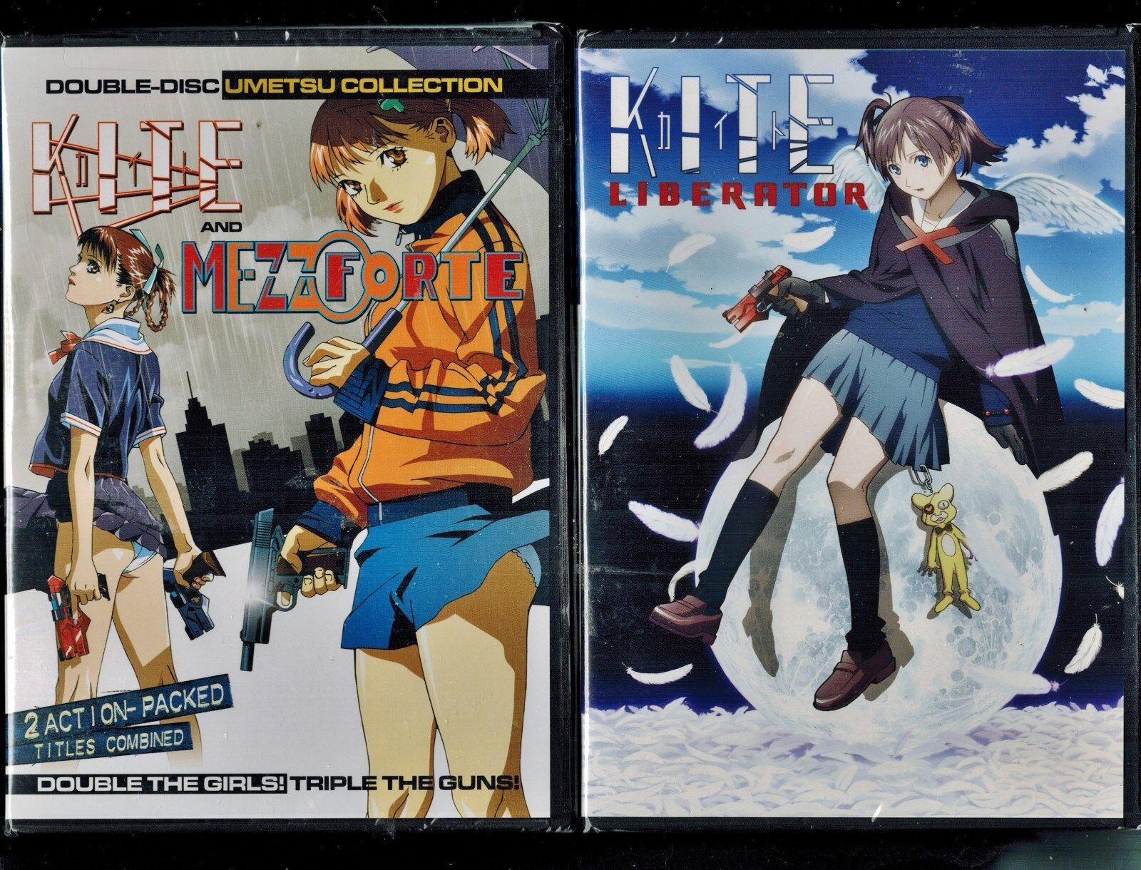 Kite + Kite Liberator + Mezzo Forte