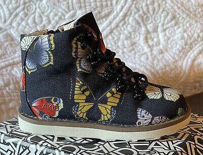 AKID NIB 8c Jasper Butterfly Boots Toddler Girl Sz 8 Shoe