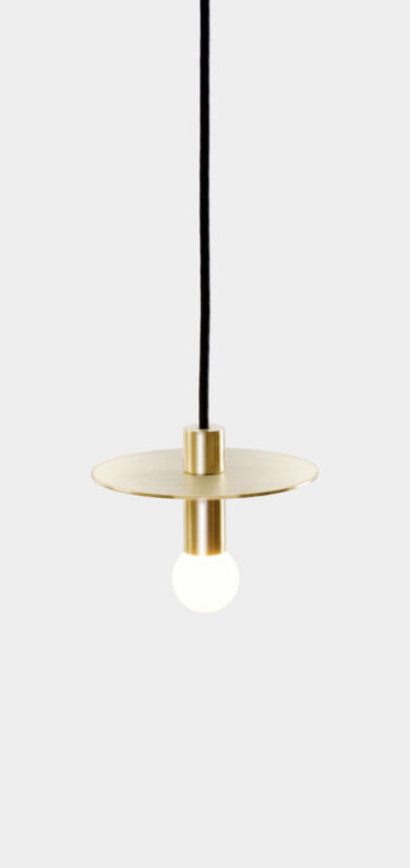Dot Suspension Lamp by Lambert & Fils Brass $445.00 Sale $195.00
