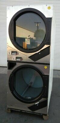 Adc American Dryer Corp Stack Dryer Coin Op 240v 1ph Sn 536713 Refurb