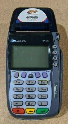 Verifone Vx570 Card Reader Omni 5700 No Power Adapter