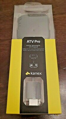 Kanex ATVPRO HDMI to VGA Adapter for AirPlay iPad and Apple TV (Apple Airplay Tv)
