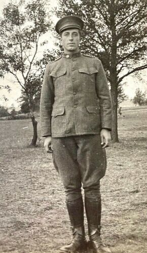 ORIGINAL - WW1 US ARMY 2nd Div. 17th Arty. Reg. SOLDIER ID