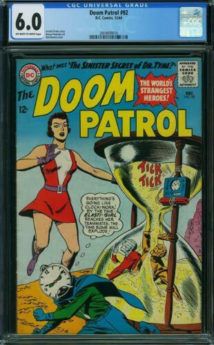 Doom Patrol #92 CGC 6.0 -- 1964 -- Elasti Girl Hourglass Sand Trap #2004939010