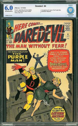 Daredevil #4 (Marvel, 1964) CBCS 6.0