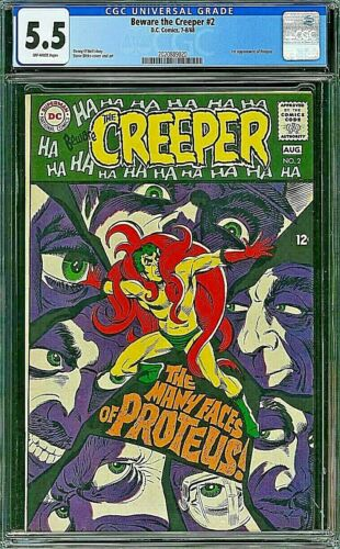 BEWARE THE CREEPER CGC 5.5 Steve Ditko O