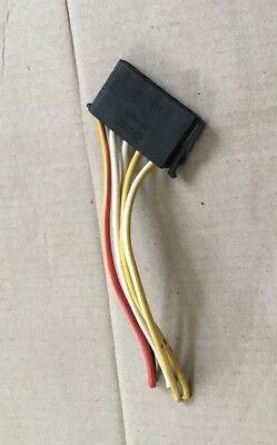 GENUINE VW AUDI WIRING LOOM REPAIR CONNECTOR PLUG SOCKET BLACK 1H0953637