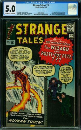 Strange Tales #110 CGC 5.0 1963 1st Doctor Strange! Key Silver Age! L5 201 cm